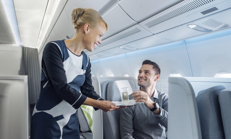 Finnair A350 business class2