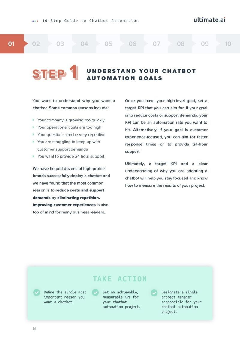 The Ultimate Chat Bot Automation Guide Step 1