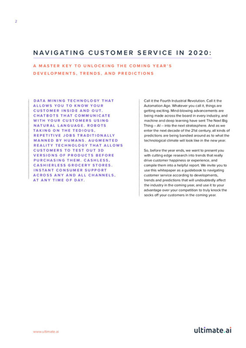 Navigating customer service in 2020 p2