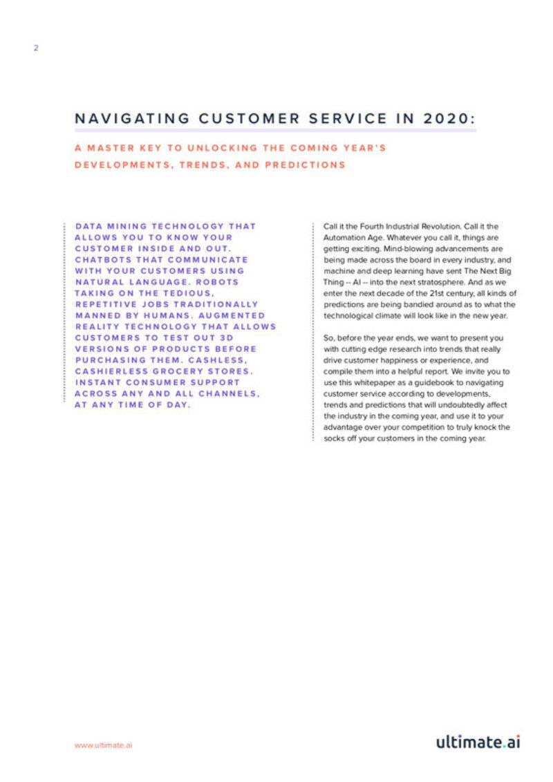 Navigating customer service in 2020 p2